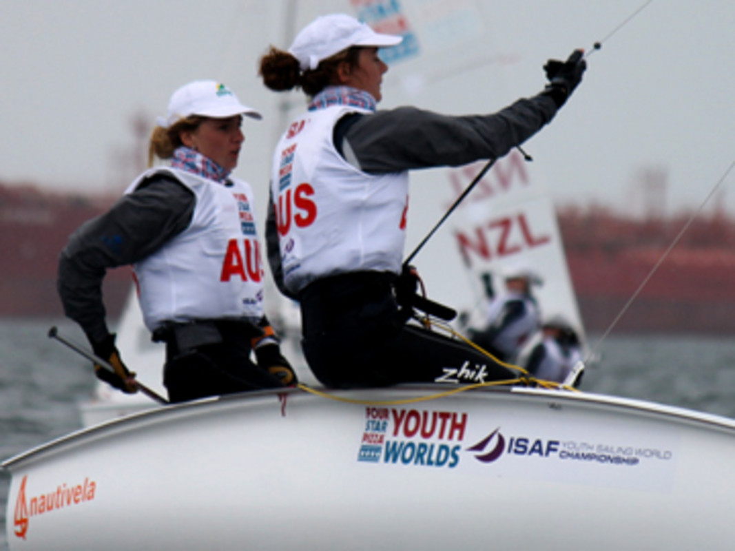Australia's Carrie Smith and Ella Clark Took The Lead Today