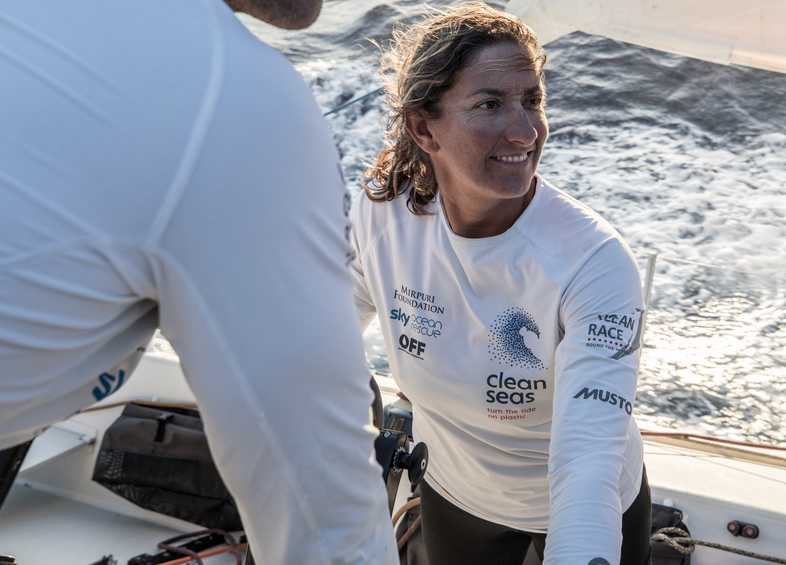 Dee Caffari sets her sights on sailing offshore at Paris 2024
