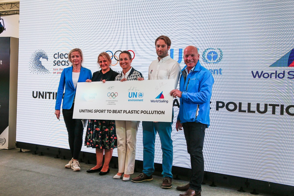 World Sailing partners with International Olympic Committee and UN Environment to beat plastic pollution