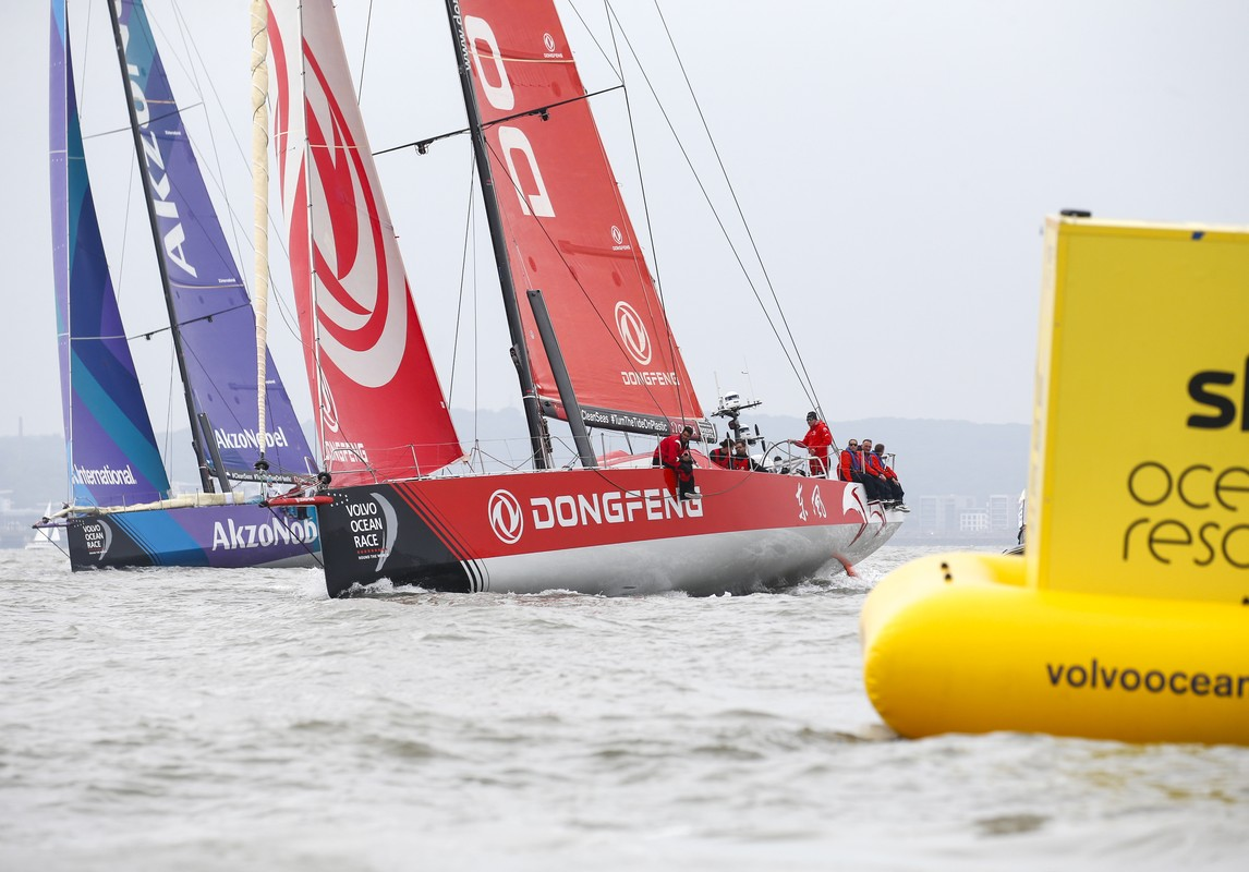 Dongfeng Race Team takes come-from-behind win in Sky Ocean Rescue In-Port Race