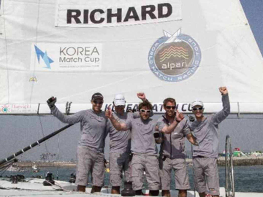 Mathieu Richard wins Korea Match Cup 2013