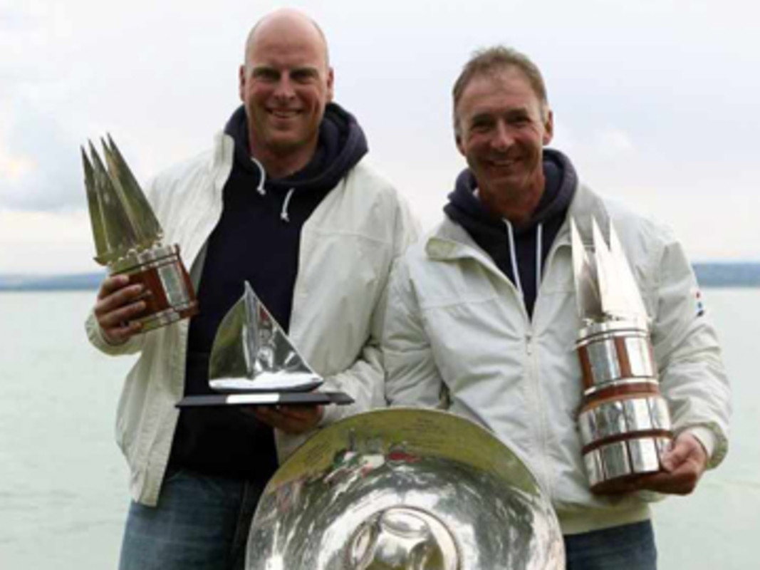 Dutch World Champions, Enno Kramer and Ard Geelkerken