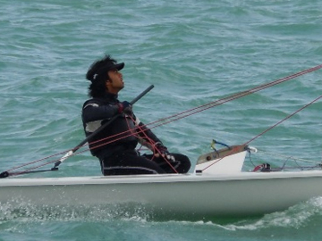Laser sailing in Qatar