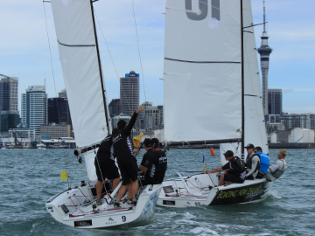 Racing in Auckland