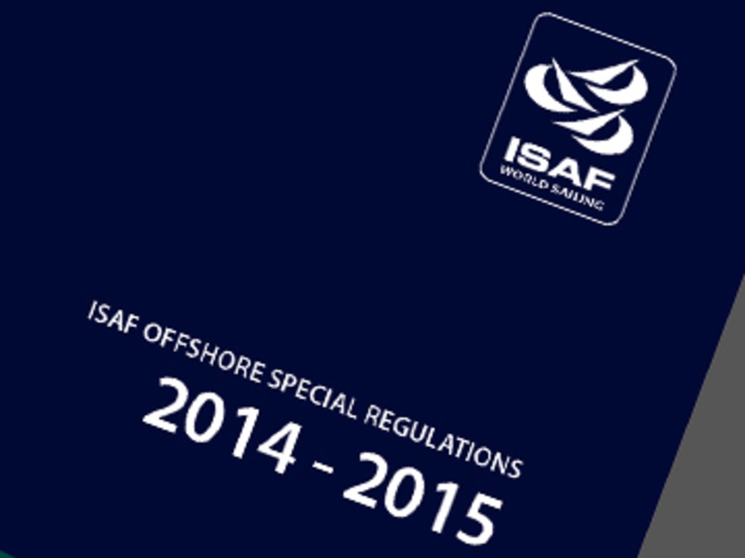 ISAF Offshore Special Regulations 2014-15