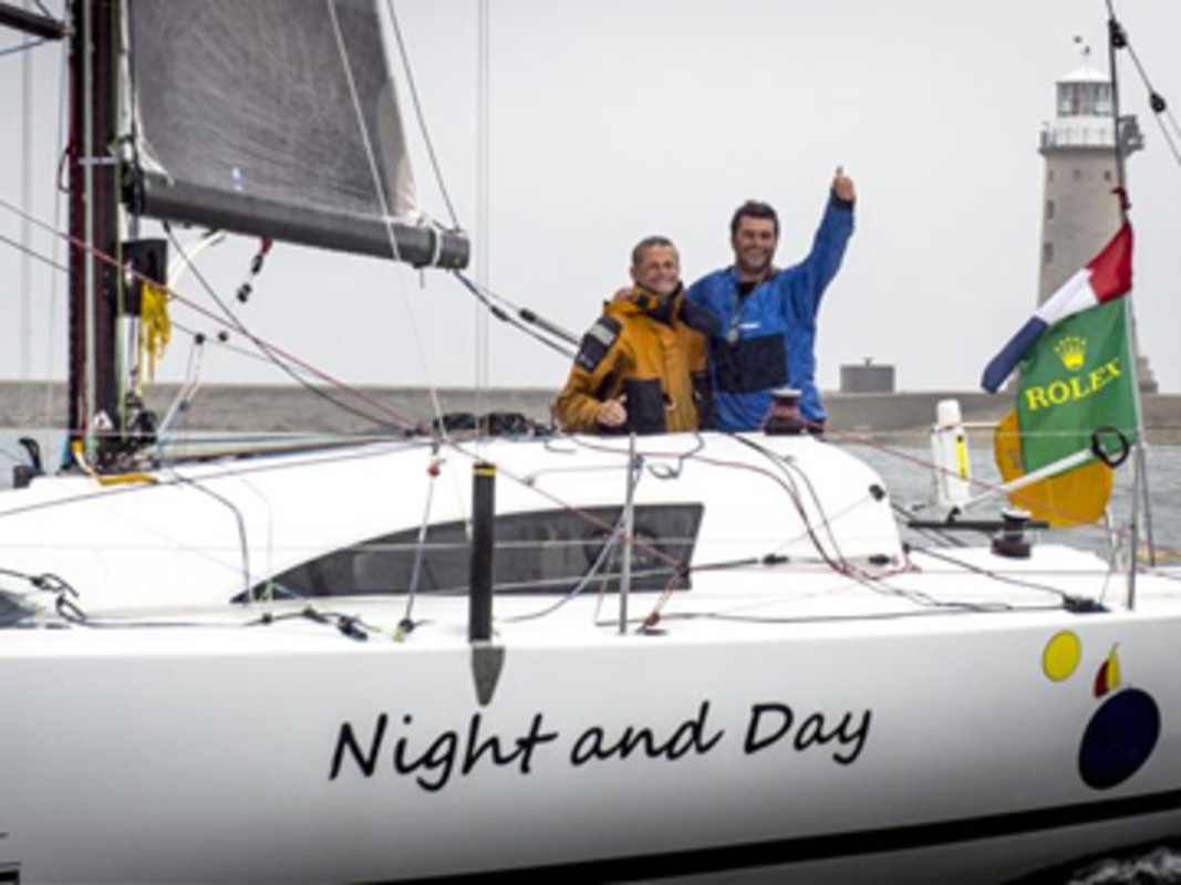 NIGHT AND DAY (FRA) overall winner 2013 Rolex Fastnet Race