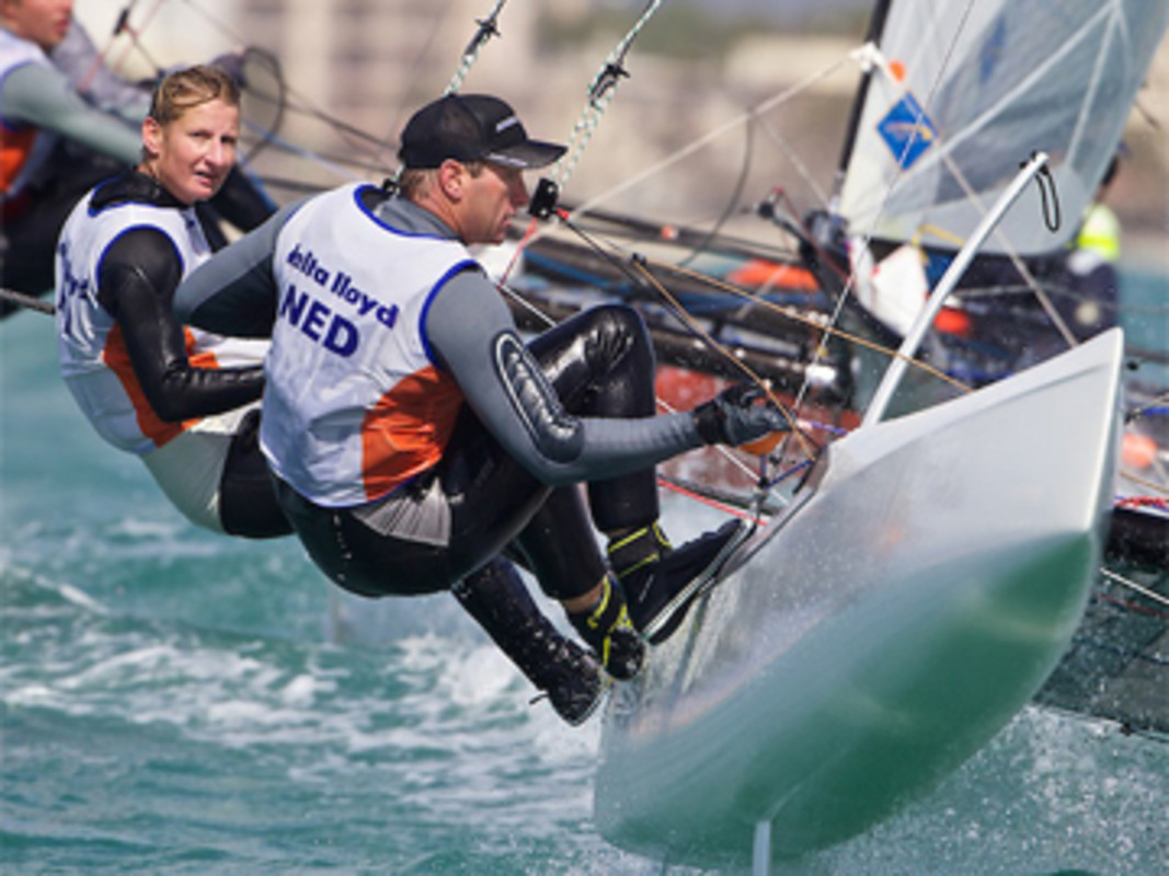 Delnooz and Heemskerk prepare for race action in Miami