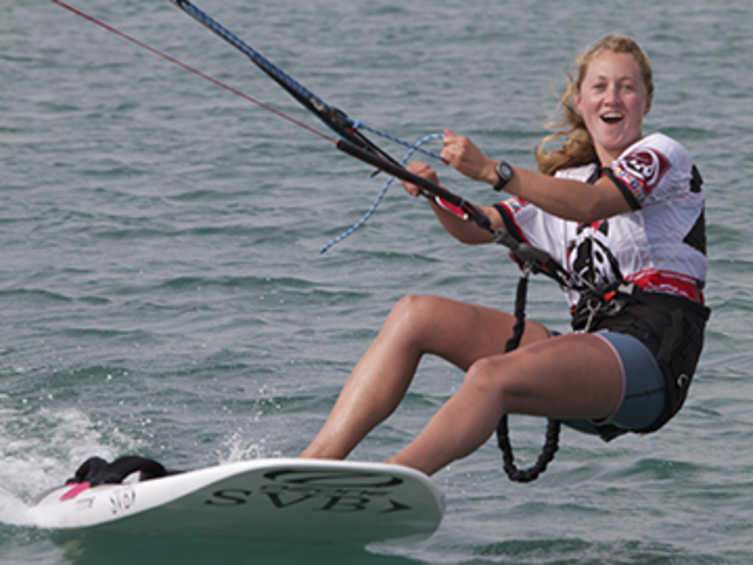 2013 ISAF Rolex World Sailor of the Year Nominee - Erika Heineken (USA)