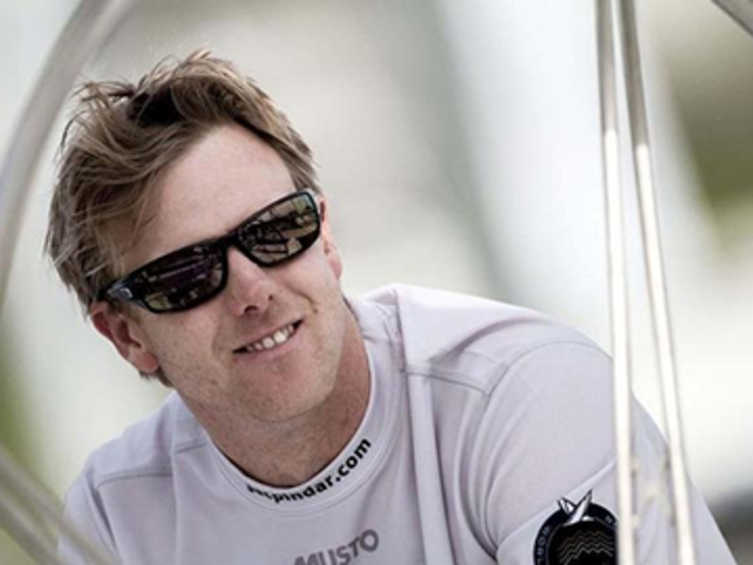 2013 ISAF Rolex World Sailor of the Year Nominee - Ian Williams (GBR)