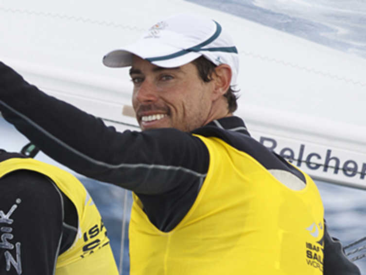 2013 ISAF Rolex World Sailor of the Year Nominee - Mathew Belcher (AUS)
