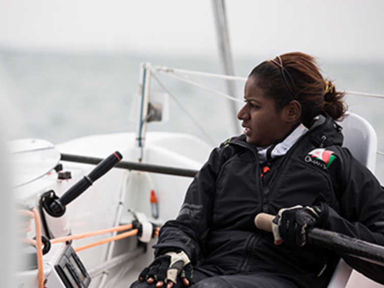 2013 ISAF Rolex World Sailor of the Year Nominee - Raiya Al Habsi (OMA)