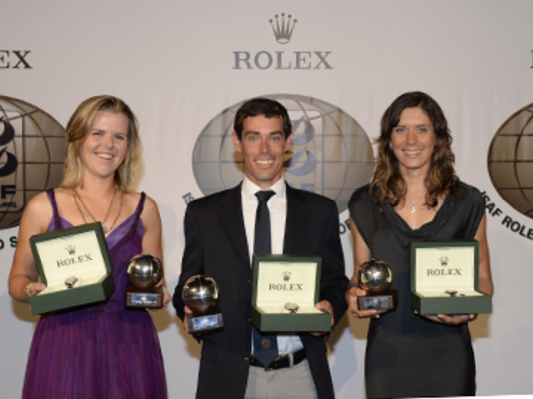 2013 ISAF Rolex World Sailors Of The Year