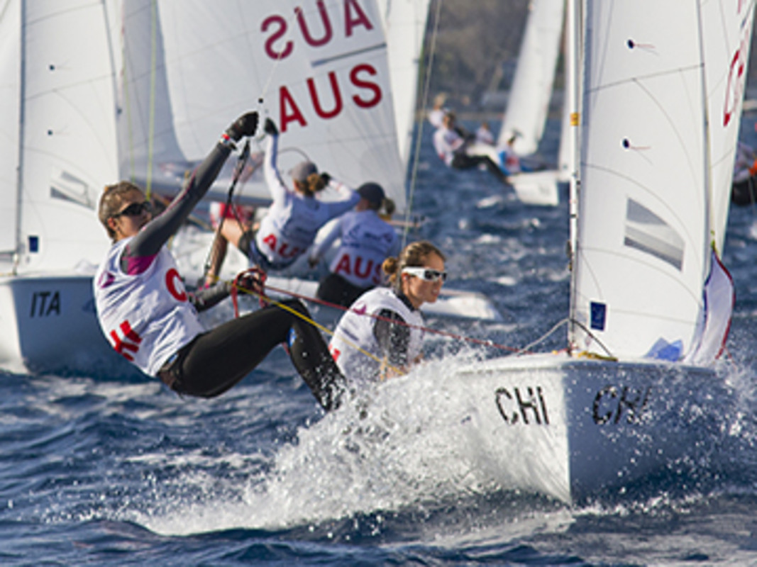 The Chileans at the 2013 ISAF Youth Worlds