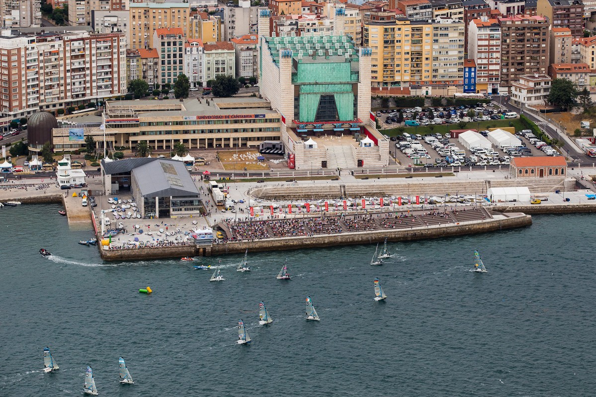 Santander during the 2014 Worlds