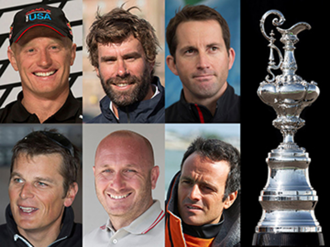 The 35th America's Cup line up