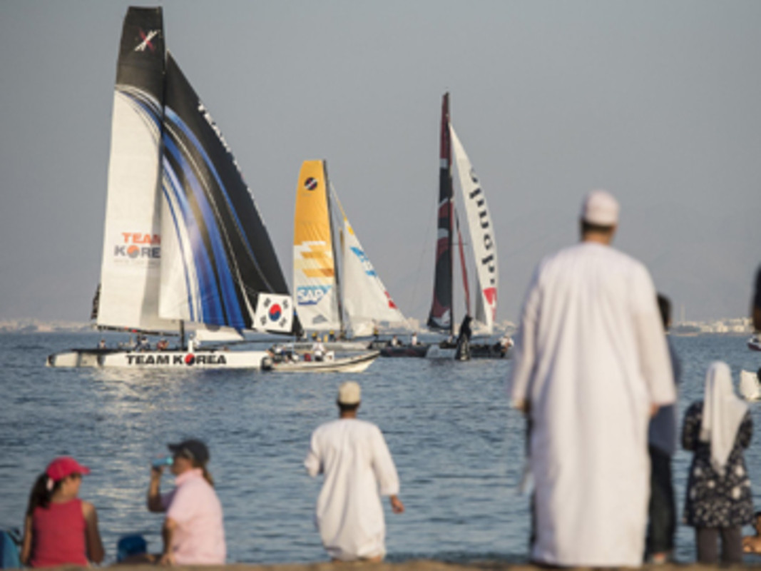 Extreme Sailing Series Muscat 2013
