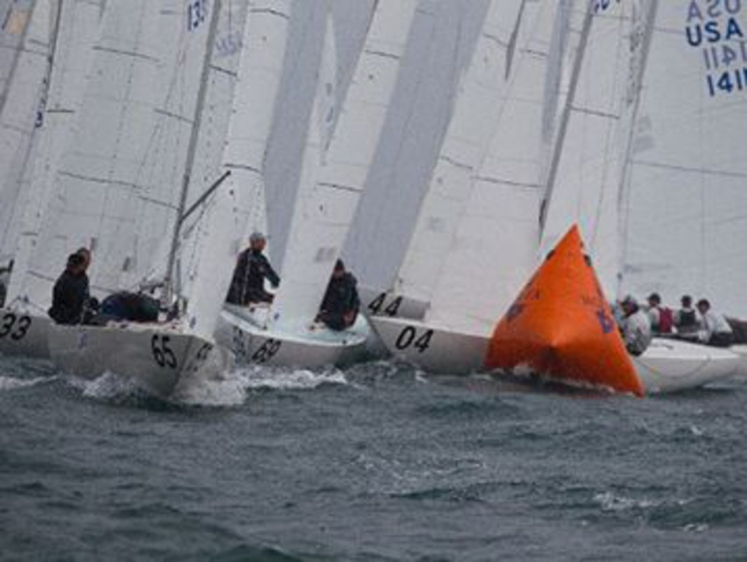 Wind and rain put a dampener on the fleet