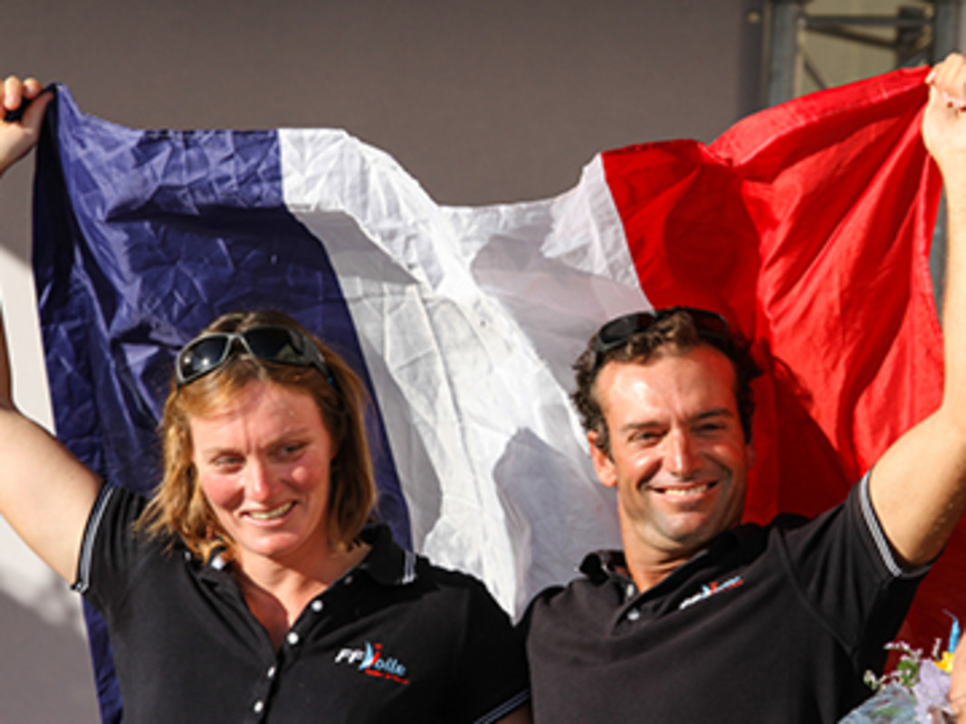 Besson and Riou cap off an amazing week for the French