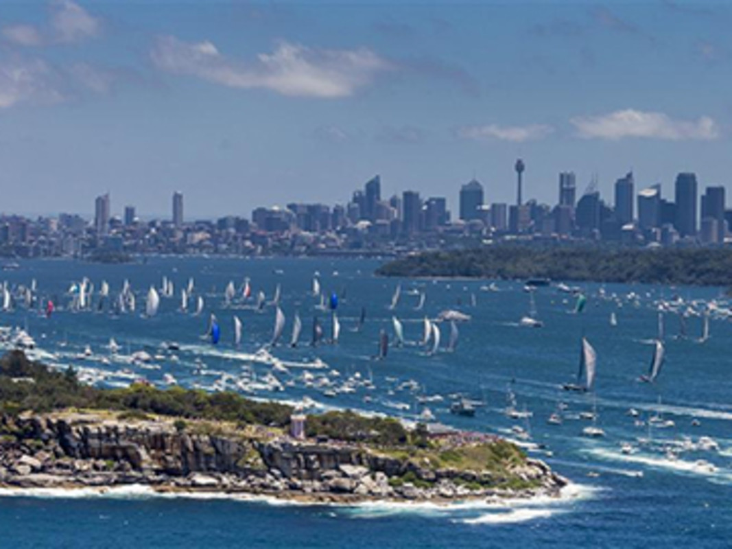 Sydney alive with sail boat racing