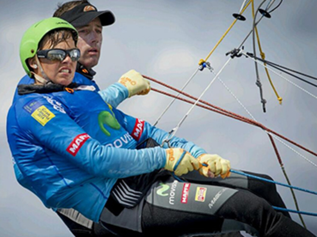 Martinez and Pacheco gear up for Sailing World Cup Mallorca