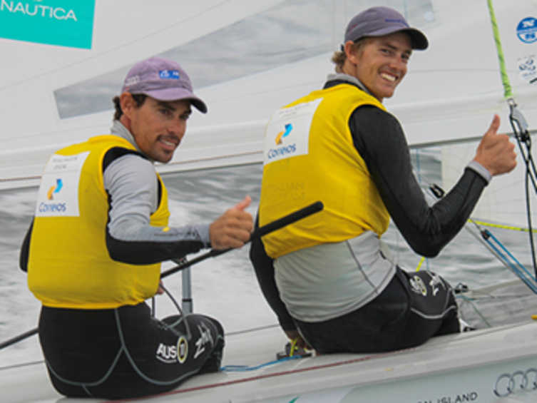 2014 ISAF Rolex World Sailor of the Year Nominees - Mat Belcher & Will Ryan (AUS)