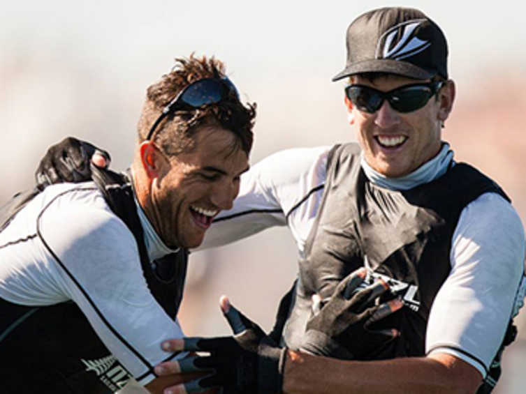 2014 ISAF Rolex World Sailor of the Year Nominee - Peter Burling & Blair Tuke (NZL)