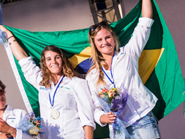 2014 ISAF Rolex World Sailor of the Year Nominee - Martine Grael & Kahena Kunze (BRA)
