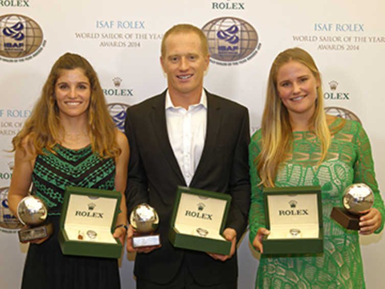 2014 ISAF Rolex World Sailors Of The Year Announced