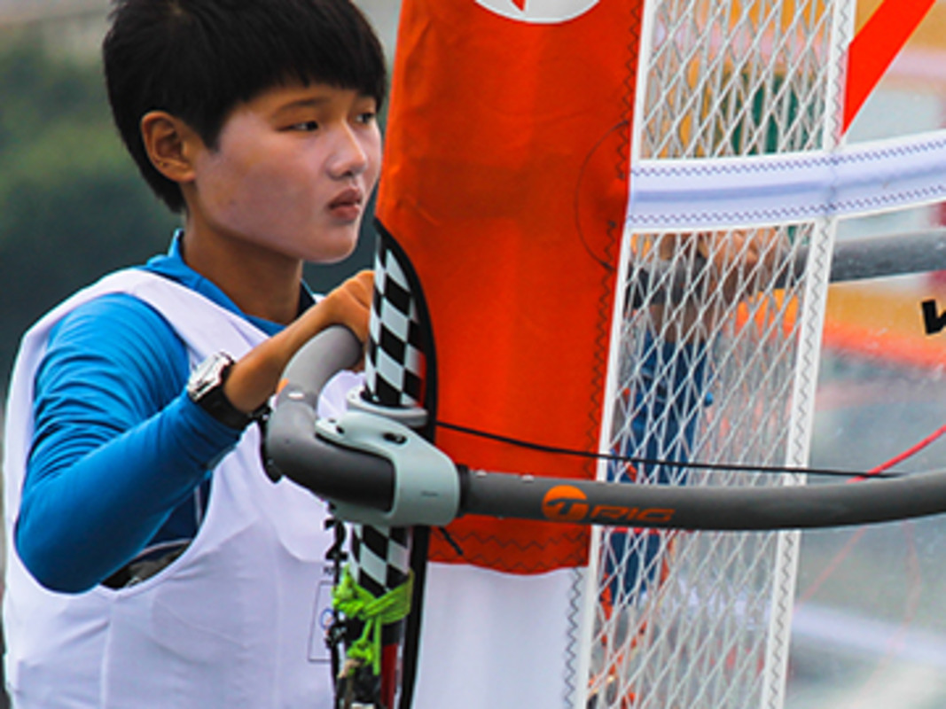 China's Linli Wu could win gold on home waters
