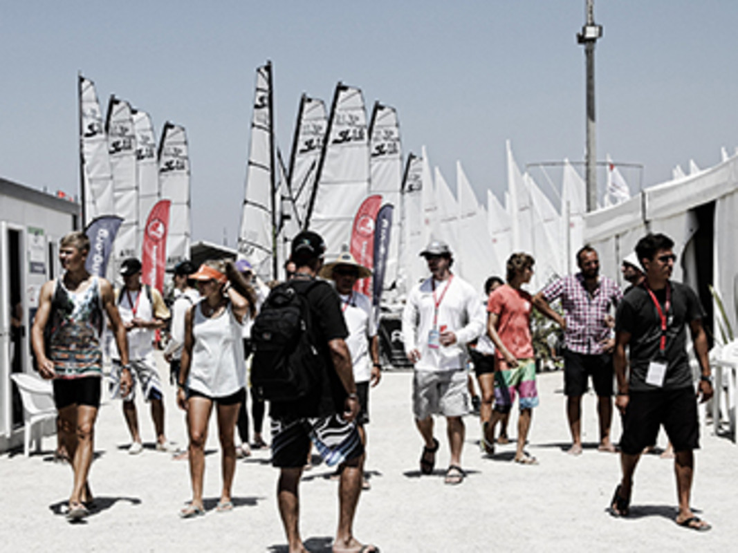 Onshore activity at the 2014 edition in Tavira, Portugal