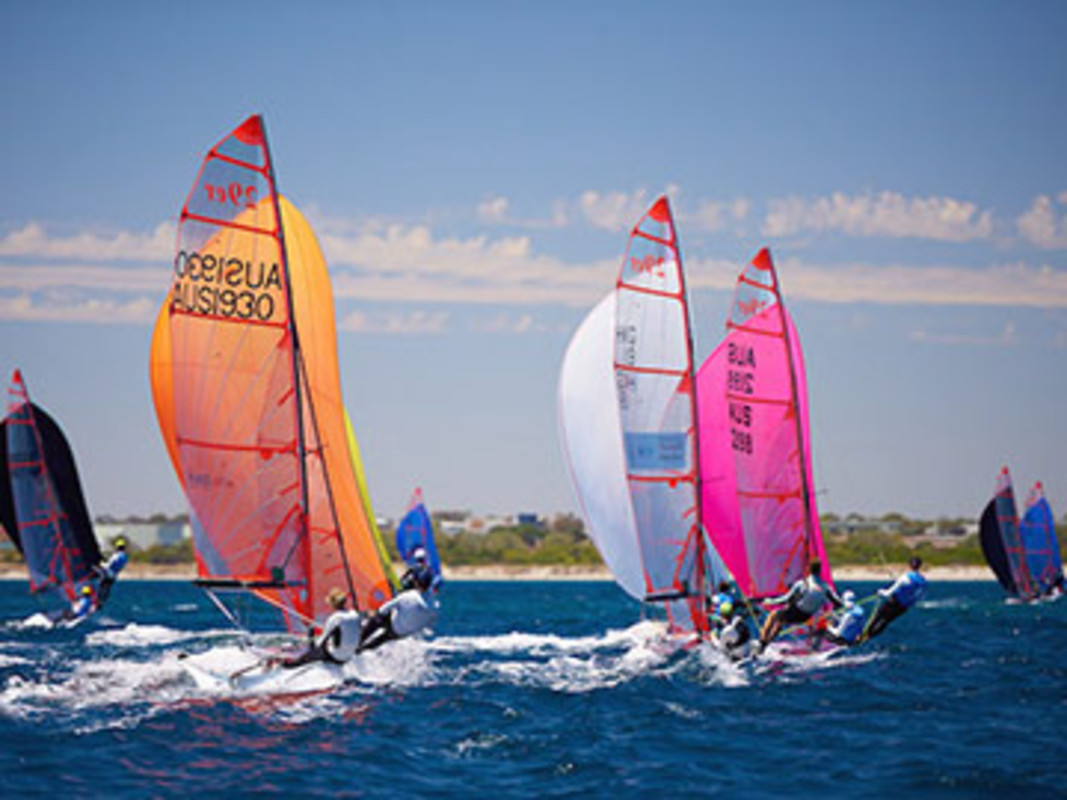 29ers at Australian Youth Championships