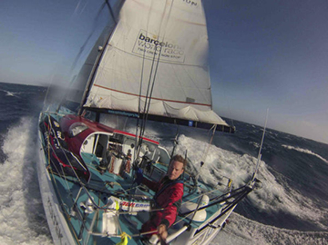 Barcelona World Race 2014-15, Onboard Spirit of Hungary with Nandor Fa and Conrad Colman