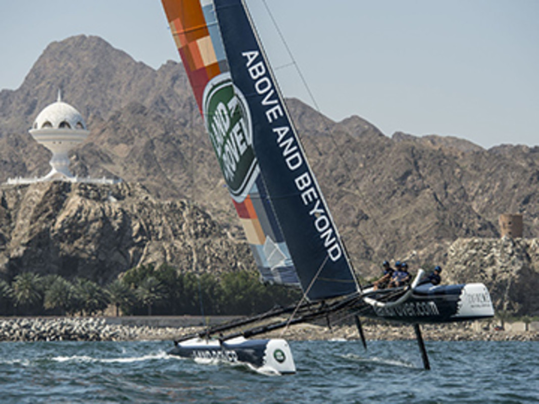 The teams return to race against the backdrop of Muscat, Oman.