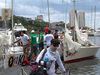 Sailors arrive ahead of ISAF Nations Cup Grand Final 2015