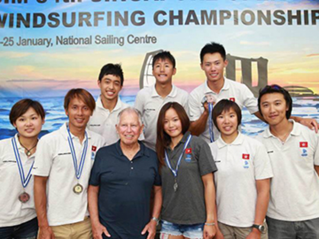 Medal winners in Singapore