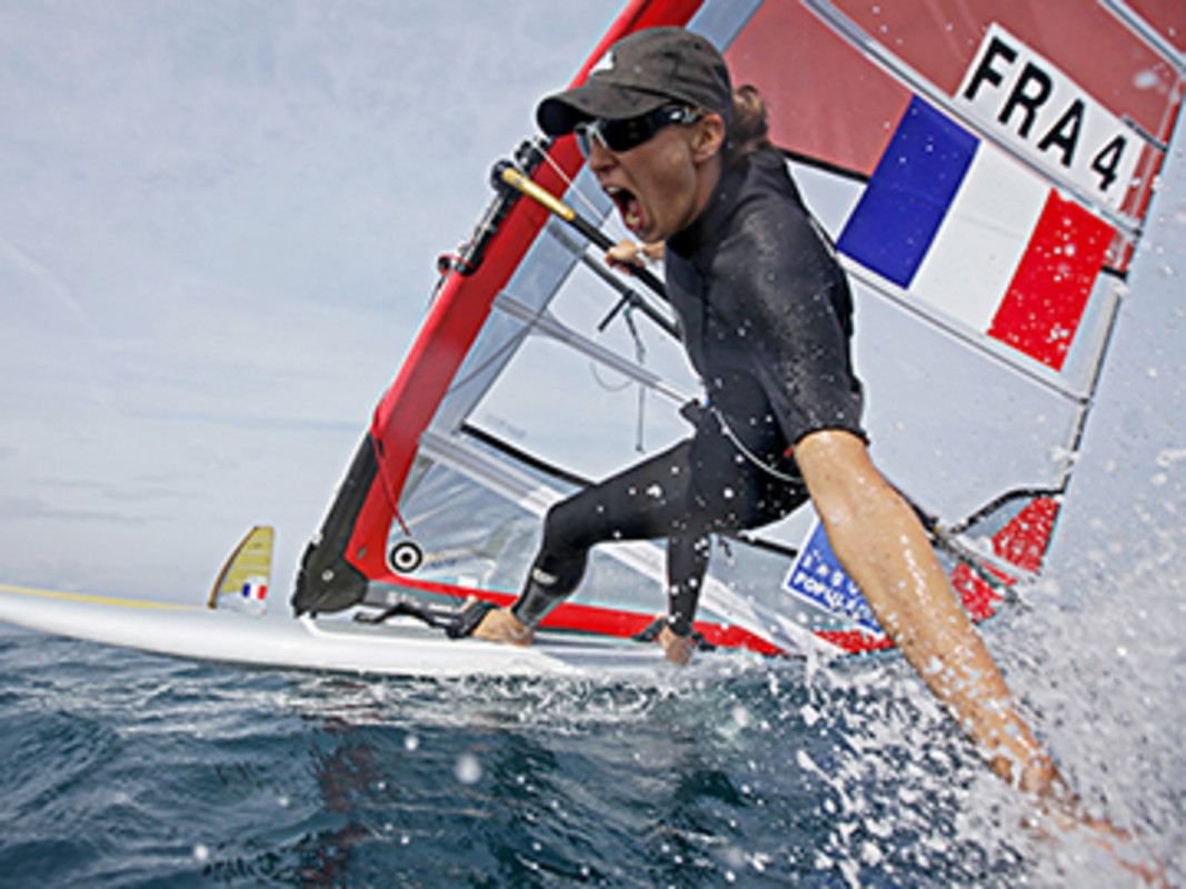 Charline Picon at World Cup Hyeres
