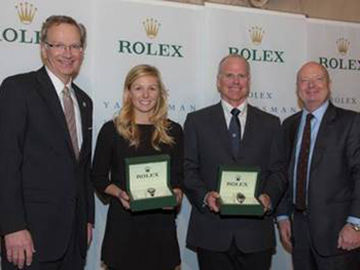 Hutchinson And Roble Honoured In New York As Best Of 2014