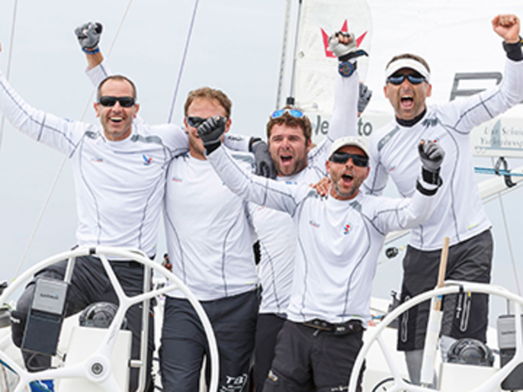 Tomislav Basic (CRO) TB Race Team wins Match Race Germany
