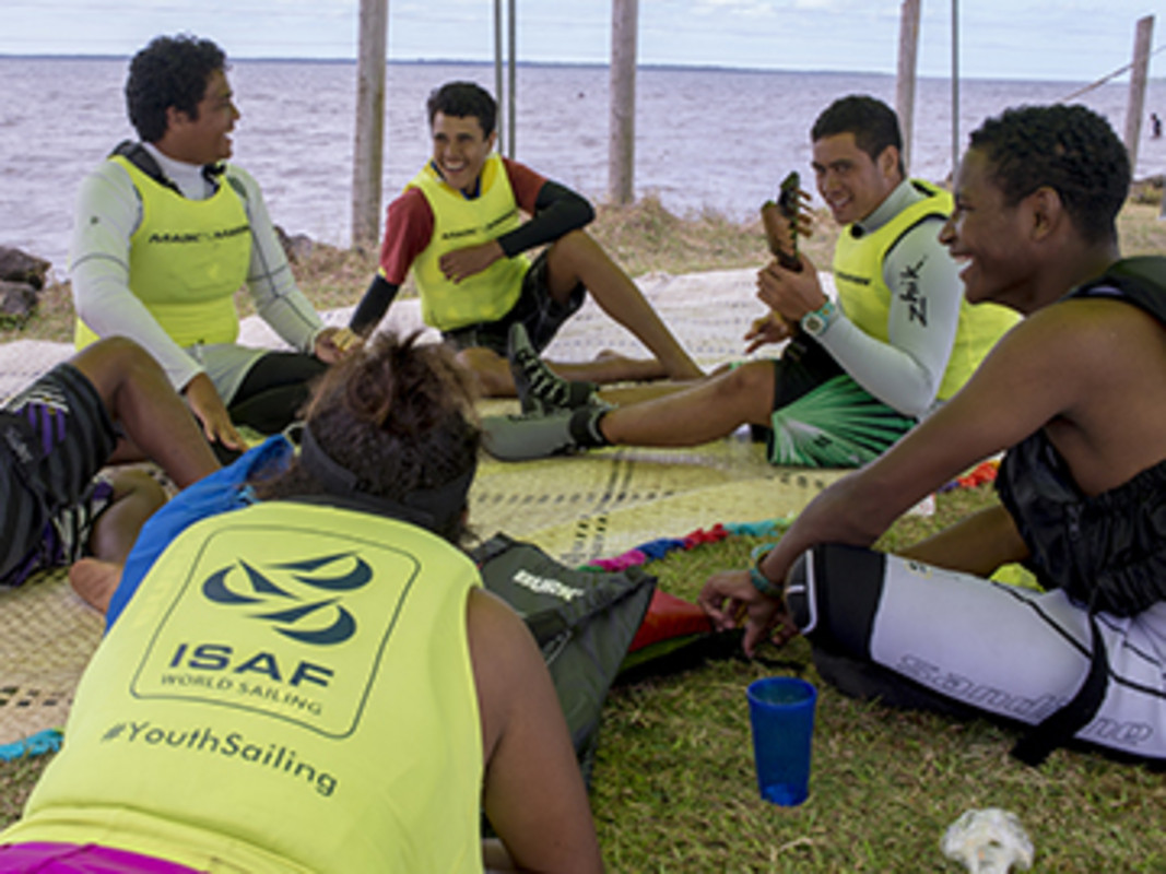 Fiji ENP clinc sailors enjoy some down time