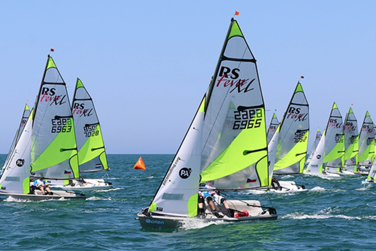 Race Day 2 - RS Feva Worlds