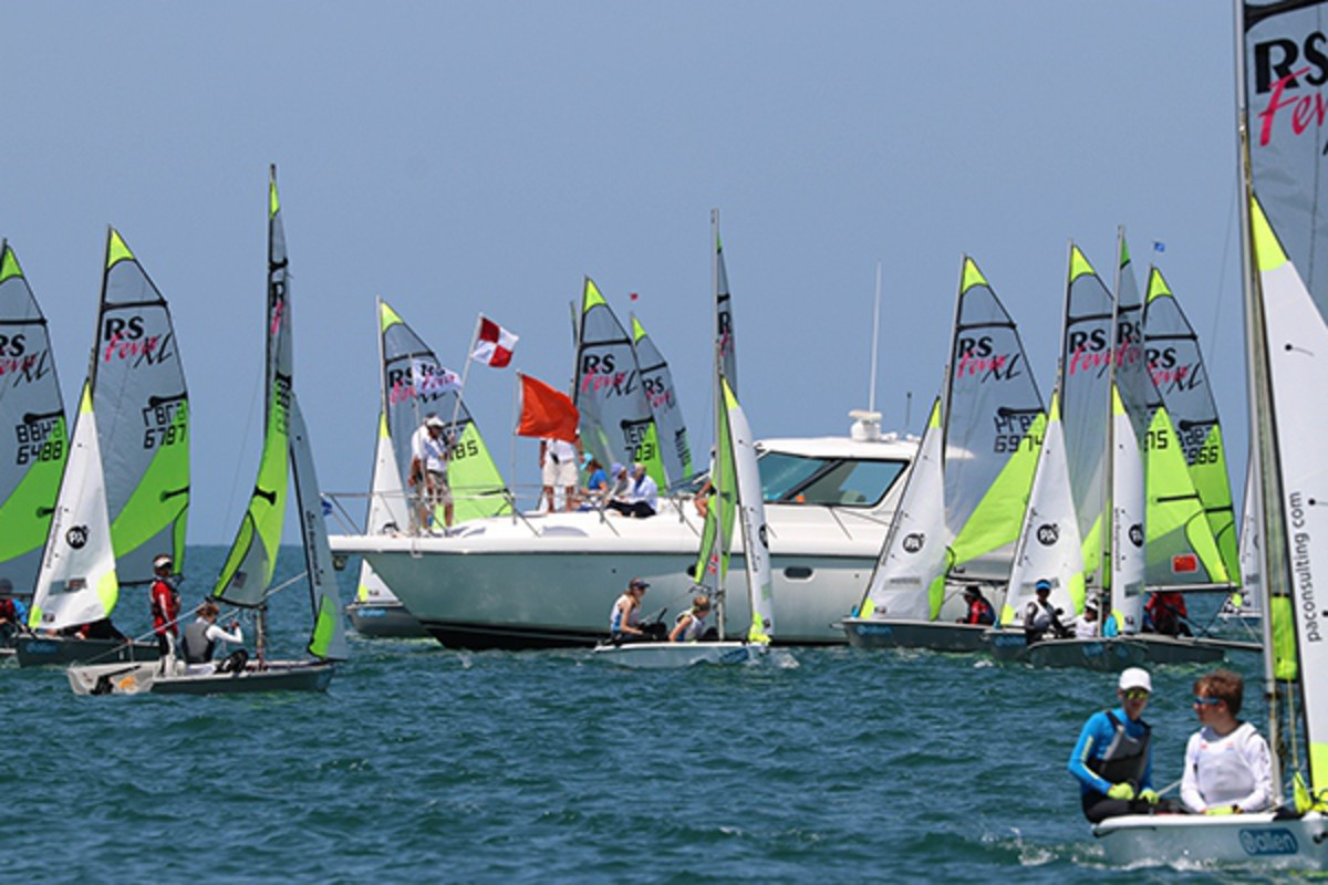 Race Day 3 - RS Feva Worlds