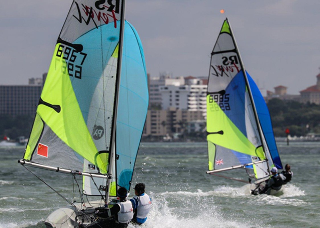 Race Day 4 - RS Feva Worlds