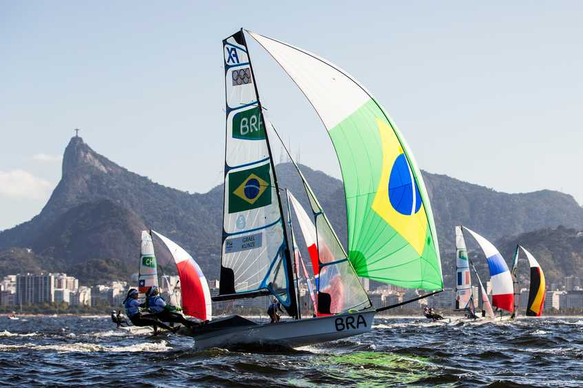 Four Gold day set for four-way climax in 49erFX + How to follow race day #11