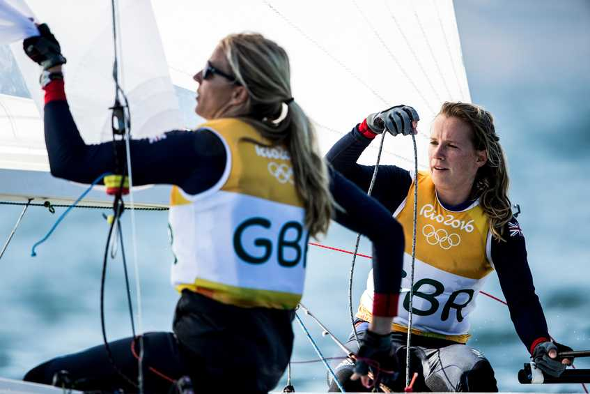Golds secured early by British 470 Women and Kiwi 49er Men