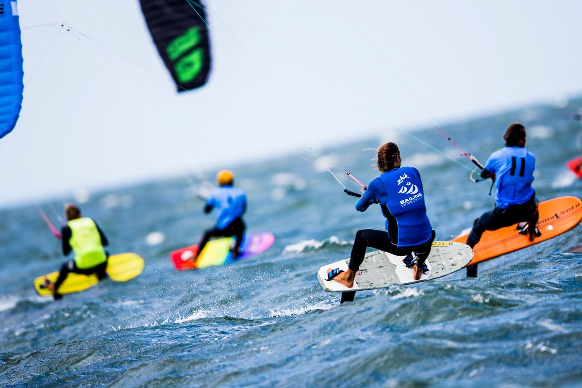Kiteboarding the the World Cup Series Final
