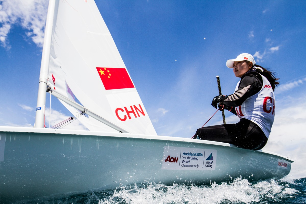 CHN Laser Radial at the 2016 Youth Worlds