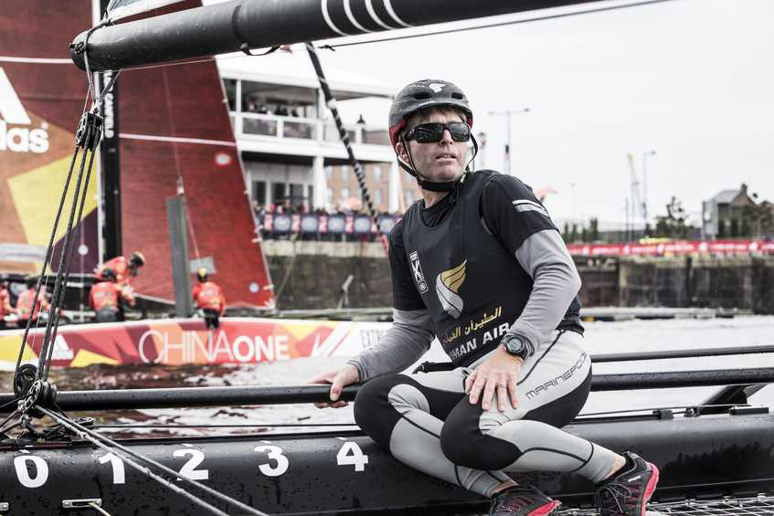 Oman Air win Act 3 in dramatic style to extend overall Extreme Sailing Series lead
