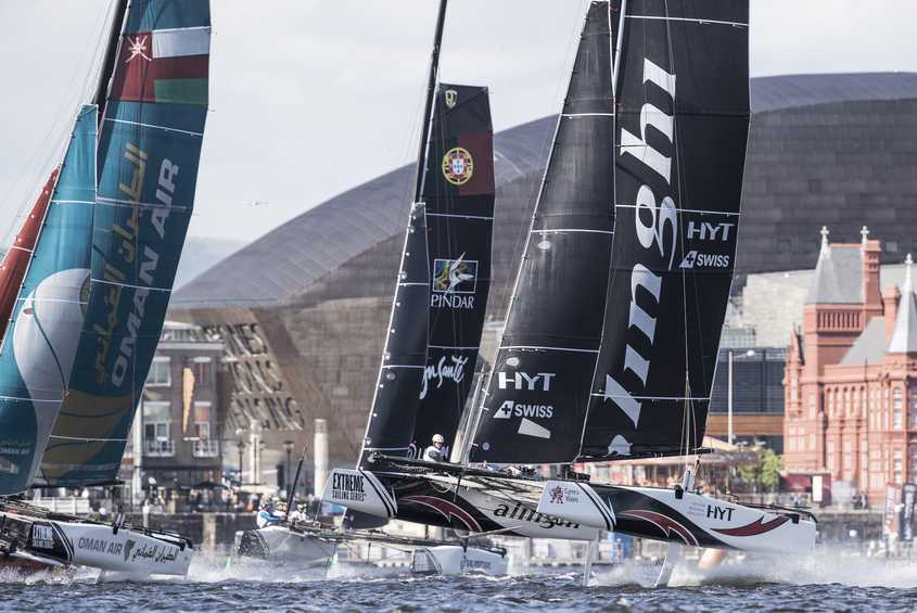 Cardiff Bay delivers spectacular racing