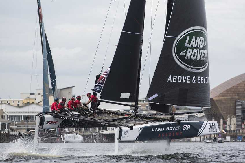 Baptism of fire for Land Rover BAR Academy young guns