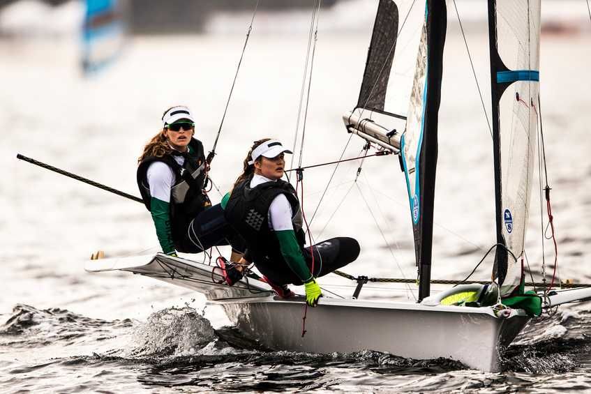 49erFX Women to debut alongside the 49er Men + How to follow race day #5